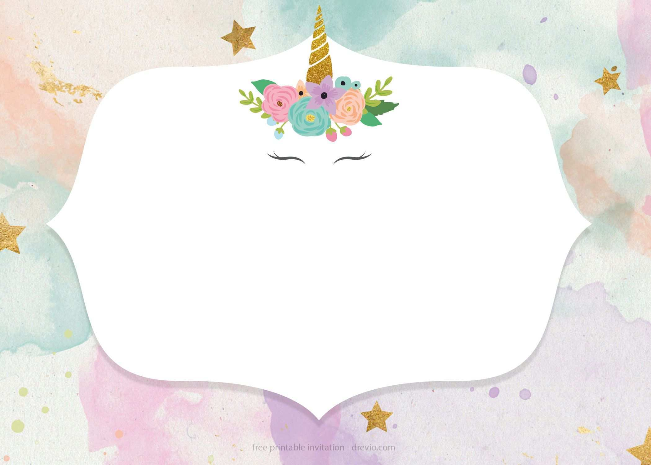 unicorn birthday card printable  greeting cards near me