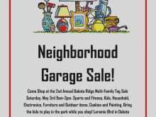 66 Customize Garage Sale Flyer Template Download for Garage Sale Flyer Template