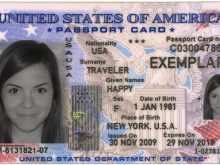 American Id Card Template