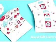 66 Customize Our Free Free Printable Gift Card Holder Template for Ms Word for Free Printable Gift Card Holder Template