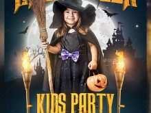 School Halloween Party Flyer Template