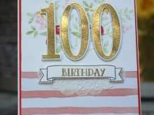 66 Format 100Th Birthday Card Template Download with 100Th Birthday Card Template