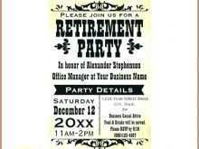 66 Format Free Retirement Party Flyer Template With Stunning Design for Free Retirement Party Flyer Template