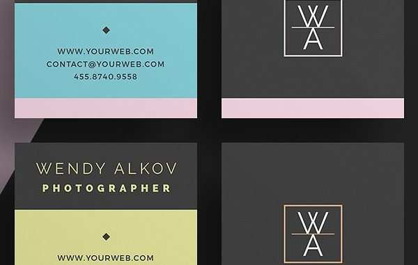 66 Free Business Cards Templates Square Layouts with Business Cards Templates Square