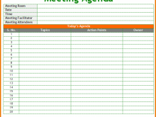 Professional Learning Community Meeting Agenda Template