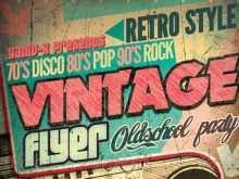 66 Free Vintage Flyer Template Maker with Vintage Flyer Template
