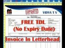66 How To Create Company Letterhead Invoice Template Formating by Company Letterhead Invoice Template