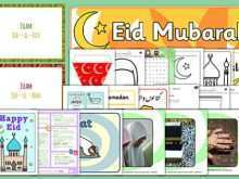 Eid Card Templates Twinkl Cards Design Templates