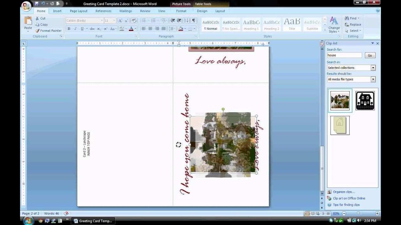 66 Online Birthday Card Template Microsoft Word 2007 Now with Birthday Card Template Microsoft Word 2007