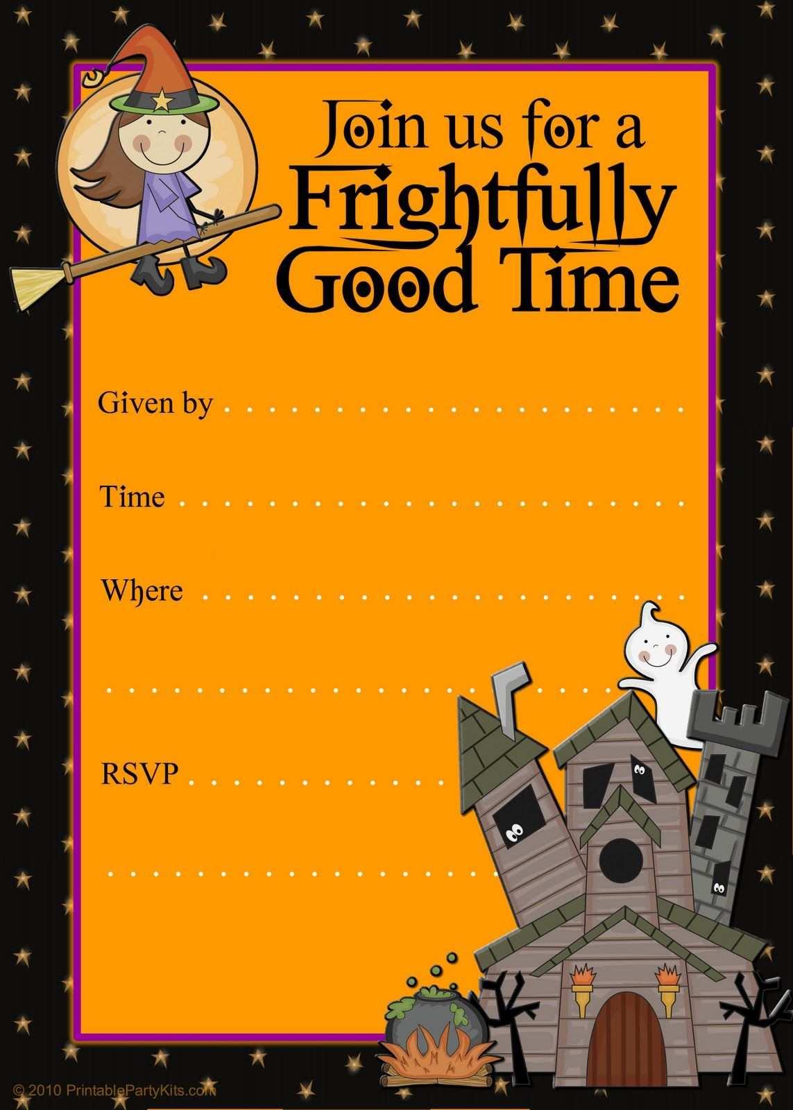 66 Printable Halloween Flyers Templates Free For Halloween Flyers Templates Free Cards Design Templates