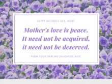 66 Printable Mothers Card Templates Quotes Formating by Mothers Card Templates Quotes