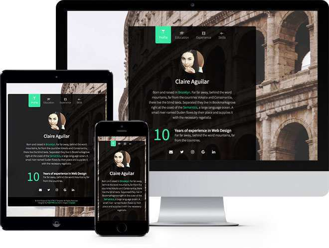 66 Report Bootstrap Vcard Template Free Download for Ms Word for Bootstrap Vcard Template Free Download