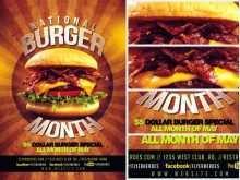 66 Report Burger Promotion Flyer Template Maker with Burger Promotion Flyer Template