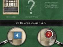 66 Standard Card Game Template Psd for Card Game Template Psd
