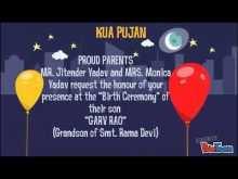 Invitation Card Format For Kua Pujan In Hindi Cards Design