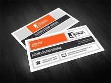 Business Card Journal Template