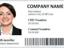Employee Id Card Template Ai