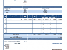 66 The Best Tax Invoice Format For Transporter for Ms Word by Tax Invoice Format For Transporter