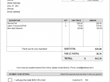 66 Visiting Invoice Copy Format For Free by Invoice Copy Format