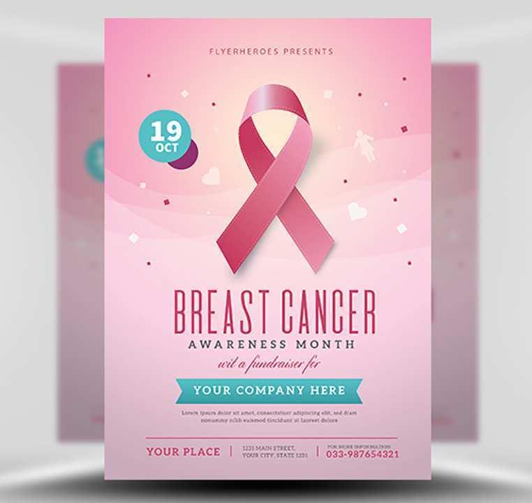 67 Adding Breast Cancer Fundraiser Flyer Templates Templates for Breast Cancer Fundraiser Flyer Templates