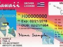 67 Adding Hawaii Id Card Template Photo for Hawaii Id Card Template