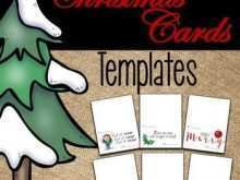 67 Christmas Card Template For Kindergarten in Word for Christmas Card Template For Kindergarten