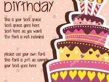 67 Create Happy Birthday Card Template Online For Free by Happy Birthday Card Template Online