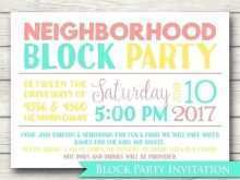 67 Creating Block Party Template Flyers Free in Word by Block Party Template Flyers Free