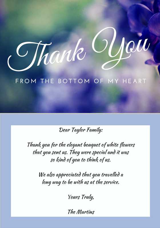 67 Creating Thank You Card Templates For Funeral for Ms Word with Thank You Card Templates For Funeral