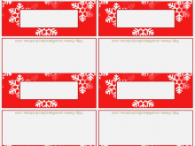 67 Creative Christmas Place Card Template Printable in Word with Christmas Place Card Template Printable