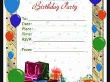 67 Creative Invitation Card Template Birthday in Photoshop for Invitation Card Template Birthday