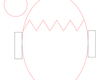 Easter Card Template Eyfs
