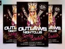 67 Customize Nightclub Flyer Template Download for Nightclub Flyer Template