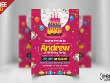 67 Customize Our Free Birthday Invitation Flyer Template for Ms Word for Birthday Invitation Flyer Template