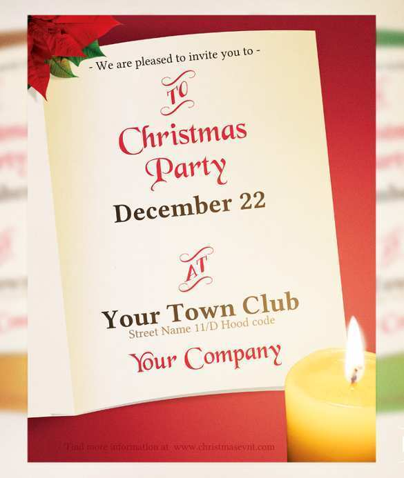 67 Free Free Xmas Invitation Card Templates Formating by Free Xmas Invitation Card Templates