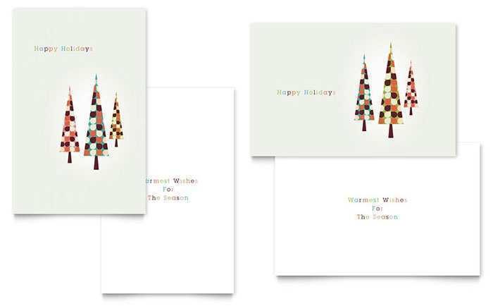 Christmas Card Templates Pdf Cards Design Templates