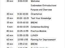 67 Online Conference Agenda Template Free Templates with Conference Agenda Template Free