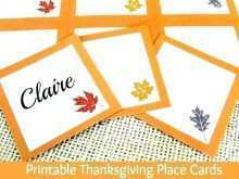 67 Online Thanksgiving Place Card Template For Word Photo with Thanksgiving Place Card Template For Word