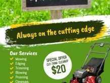 67 Printable Lawn Mowing Flyer Template Photo with Lawn Mowing Flyer Template