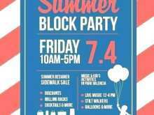 67 Report Block Party Template Flyers Free For Free for Block Party Template Flyers Free