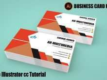 67 Report Business Card Template Illustrator Cc in Word with Business Card Template Illustrator Cc