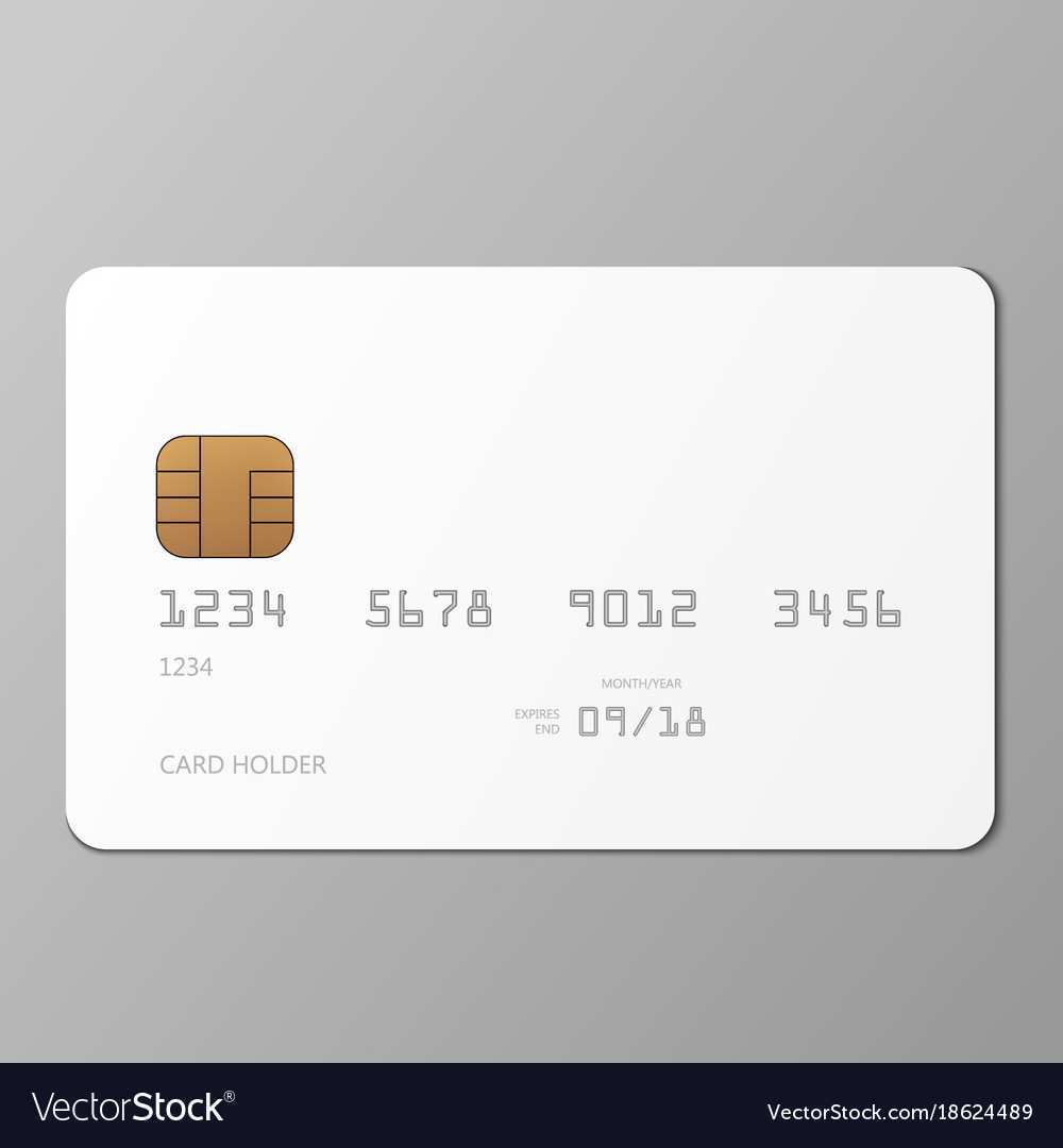 67 Standard A Credit Card Template Now for A Credit Card Template