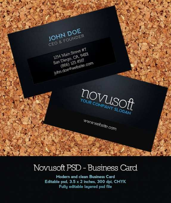 67 Standard Name Card Templates Software in Photoshop for Name Card Templates Software