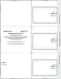 67 The Best 3 Up Card Template in Word for 3 Up Card Template