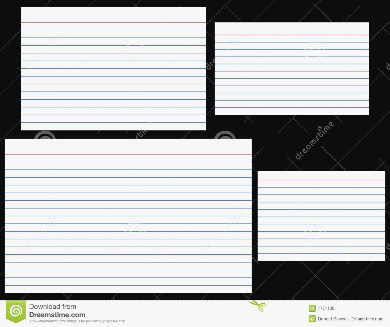 67 The Best 4 X 6 Index Card Template For Microsoft Word Templates by 4 X 6 Index Card Template For Microsoft Word