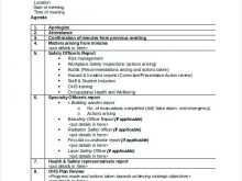 67 The Best Audit And Risk Committee Agenda Template Maker for Audit And Risk Committee Agenda Template