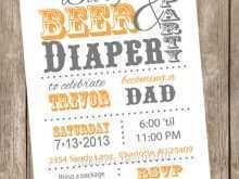 Free Printable Diaper Card Template