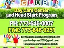 67 The Best Home Daycare Flyer Templates For Free for Home Daycare Flyer Templates