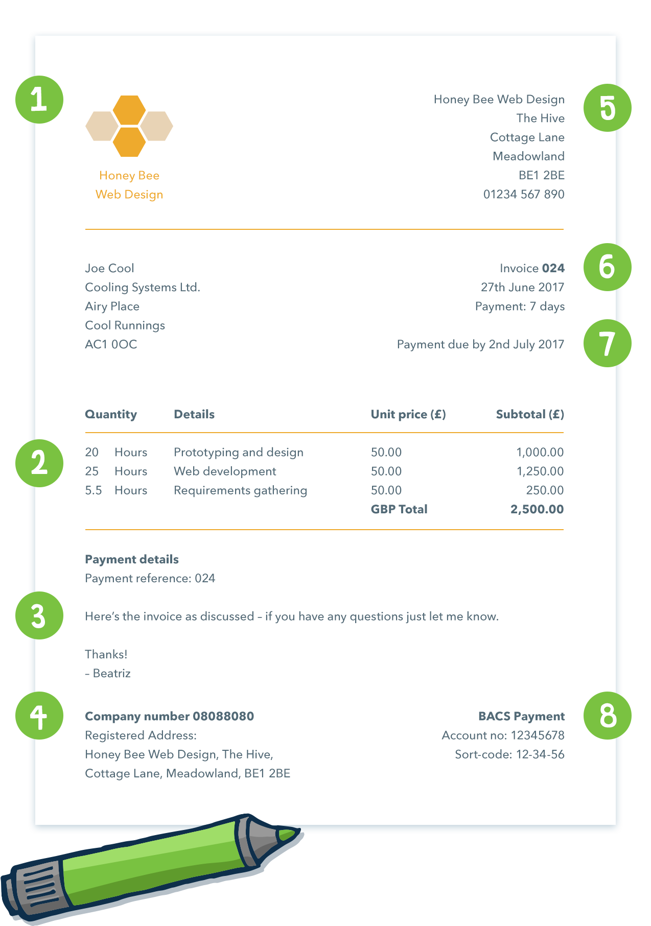 67 The Best Vat Invoice Template Hmrc For Ms Word For Vat Invoice Template Hmrc Cards Design Templates
