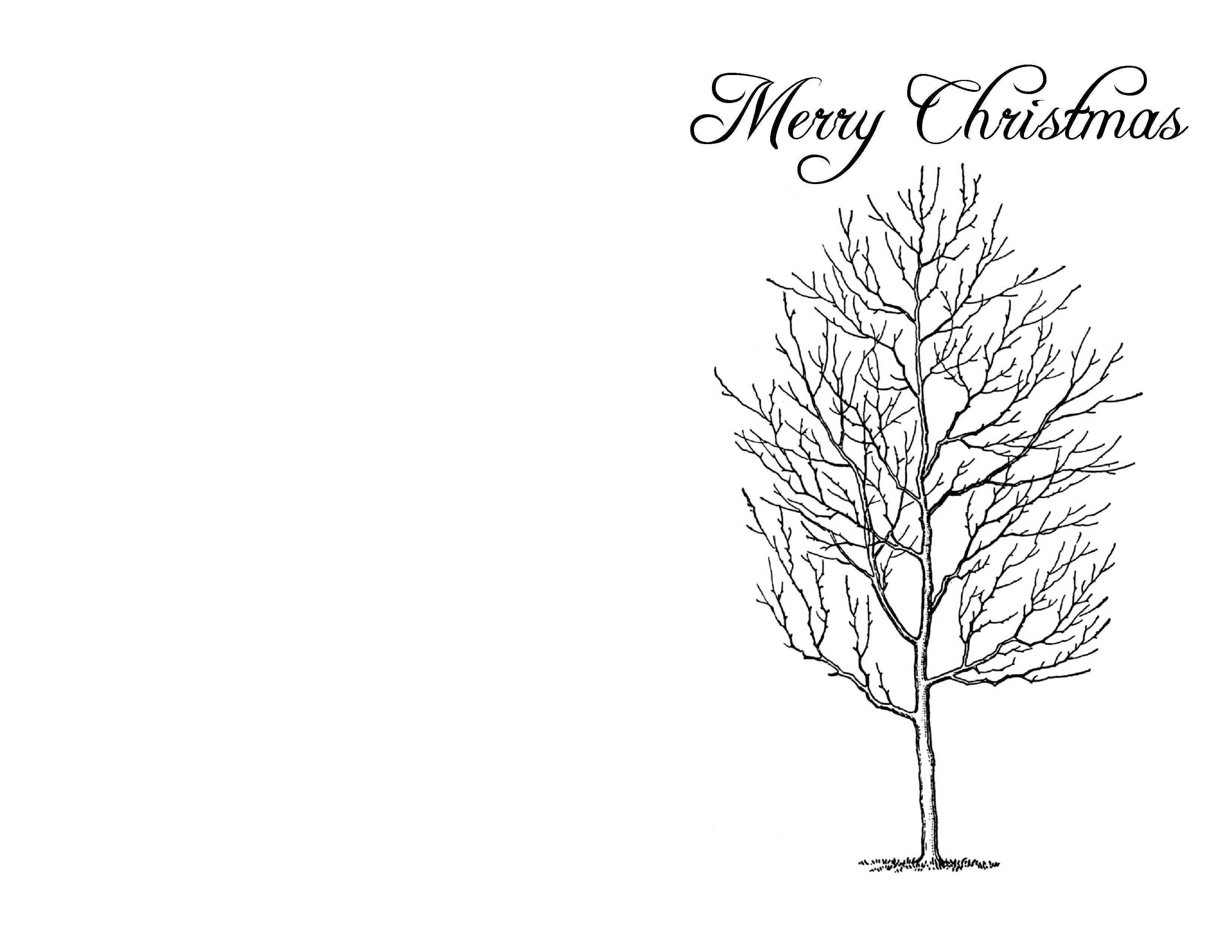 67 Visiting Christmas Card Template Black And White With Stunning Design by Christmas Card Template Black And White